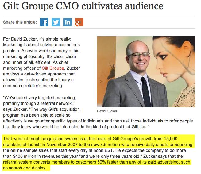 gilt groupe growth