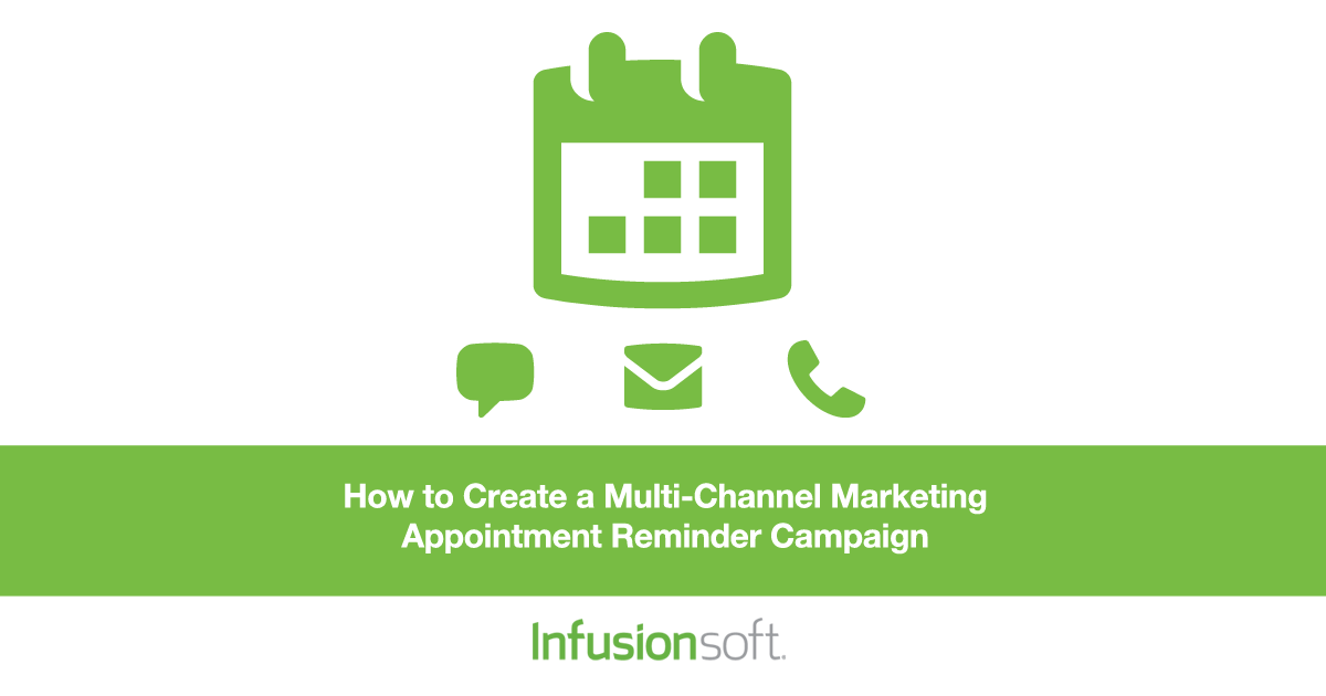 Infusionsoft Appointment Reminder Campaign