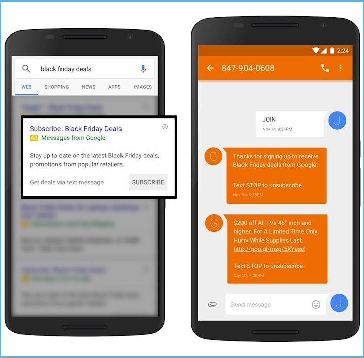 google-holiday-text-message-remarketing-ads